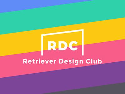 Retriever Design Club - Brand and Logo branding colors design club logo student organizations