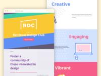 Retriever Design Club New Website