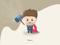"Thor - ""You people are so petty. And tiny."""
