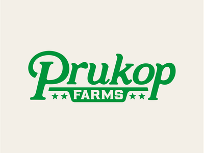 Prukop Farms branding vector illustration logo summer king merch shirt design watermelon texas farm