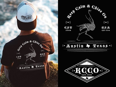 Chivery Shirt  austin kcco ostrich black design gothic cali rvca chivery