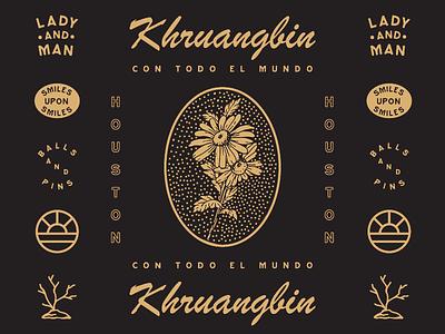 Khruangbin festival concert guitar texas houston album cd cover band music logos