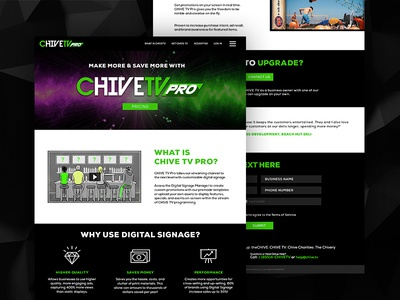 CHIVE TV Website apple roku pro chive tv icon ux ui