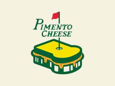 Pimento Cheese typography branding vector design illustration logo shirt