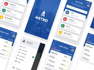 Capmetro App Redesign austin transportation app mobile ux ui