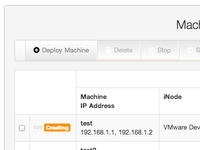 Deploy, manage, and meter virtual machines web UI