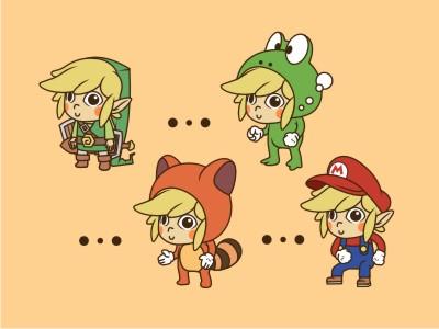 Link Mario Suit