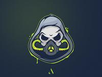 Gas mask Mascot