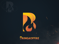 BringaOfFire Flame Logo - Twitch Streamer Logo