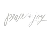 Peace + Joy