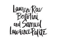 Lauren and Samuel