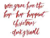 hap- hap- happiest christmas