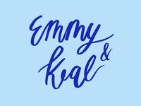 Emmy + Keal