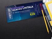 Ticket for Aquarium Webshop