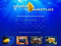 Aquarium Marketplace Concept