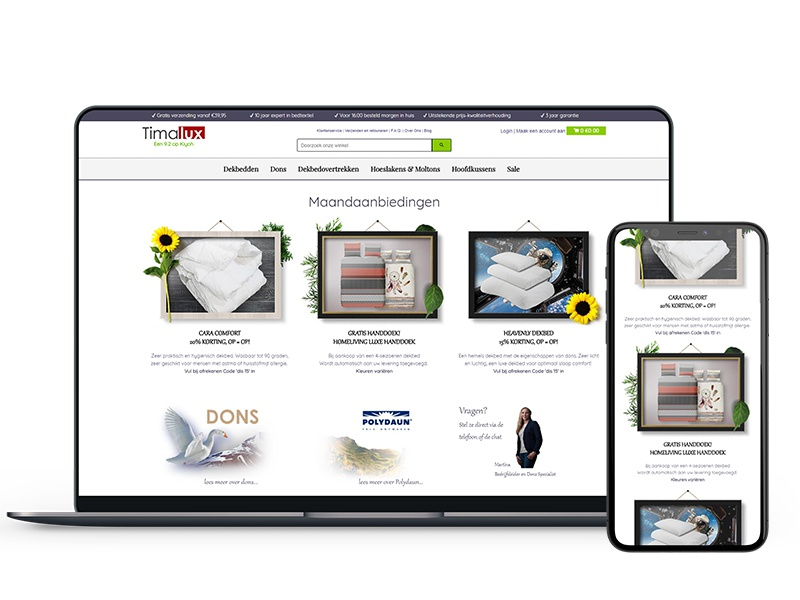 New Design Timalux Webshop design white modern photoshop adobe website user interface webdesign webshop ecommerce
