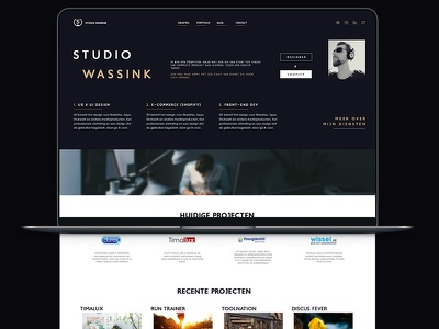 Website V2.1 ux ui design apps shopify webshops portfolio webdesign