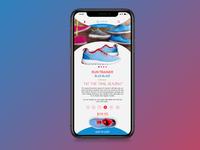 Mobile Webshop Design