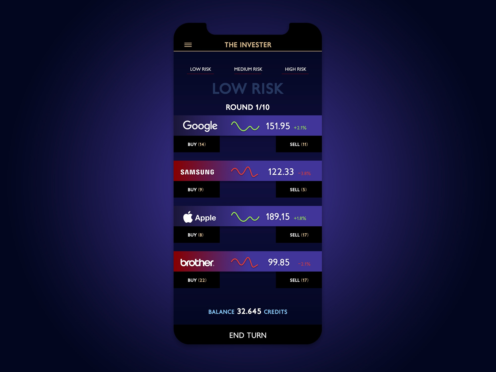 Invester dribbble