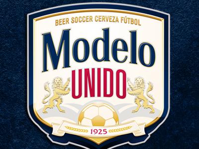 Modelo Unido sports soccer beer modelo
