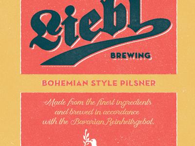 Tap Handle - Pilsner beer vintage homebrew