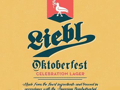 Tap Handle - Oktoberfest beer vintage homebrew