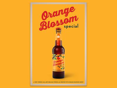 Orange Blossom Special bottle beer homebrew