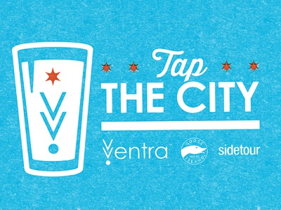 Tap the City promotion beer logo