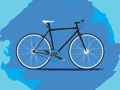 My Bike adobe illustrator illustration bike