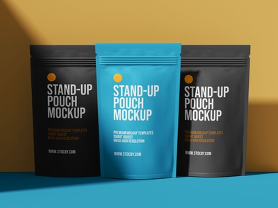 Standing Pouch Bag Mockup Download pouch mockups mockup design mockup packaging design packaging mockup standing pouch bag pouch packaging pouch mockup pouch design pouch bag