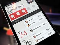 Social Ping Pong App