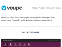 New Voupe Site