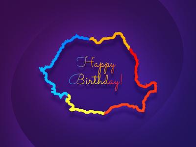 Happy birthday, Romania! romania 1 december national day