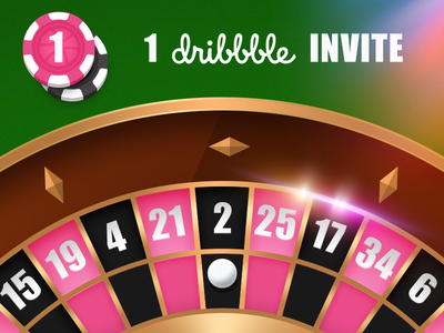 1 Dribbble Invite give away dribbble invite