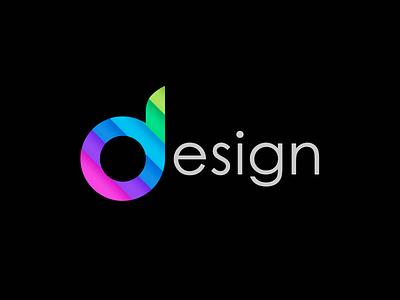 Logo design for a design department green blue purple magenta logo colors