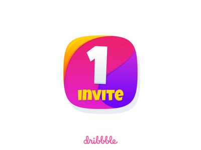 Dribbble invite invite giveaway