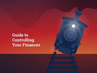 Off The Rails rails train infographic bank