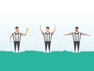 Merrick Infographic Referee sports referee infographic bank