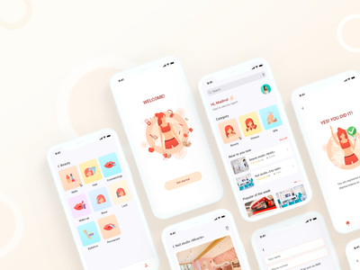 Mobile app web ux ui design