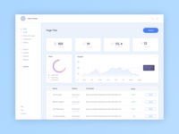 Dashboard Template Daily UI challenge