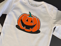 Pumpkin bodysuit