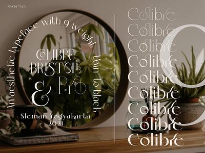 Colibre Bristole Pro   Font Family font logotype typography serif font font family font design font awesome branding font