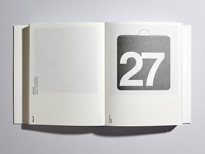 Fedrigoni 365 — 2019 helvetica fedrigoni swiss style massimo vignelli vignelli calendar vector print modernist minimal graphic design typography