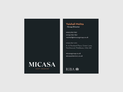 Interior Design Architecture Business Card by luke Dribbble