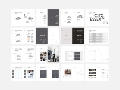 Brand Guidelines futura corporate style guide corporate style stationery print typography graphic design guidelines logo identity branding