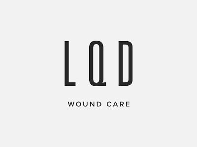 L · Q · D — Branding Concept 01 typography swiss style cosmetics medical minimal logotype logo identity graphic design univers branding