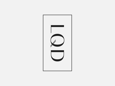 L · Q · D — Branding Concept 02 bodoni sans typography swiss style minimal medical logotype logo identity graphic design cosmetics branding