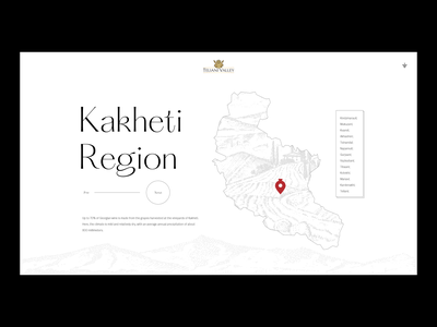 Teliani Valley leavingstone website typography history 8000 years georgia region kakheti grapes wine factory chavchavadze alexander cellar wine wine glass winery wine label web