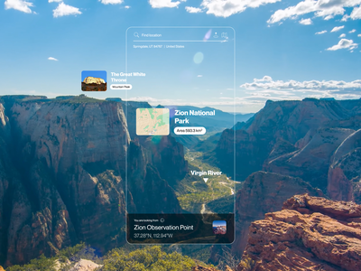 EARTH OBSERVER people video motion animation ux observe map augmented reality mapping objects identification find location location coordinates identify application digital product design thinking