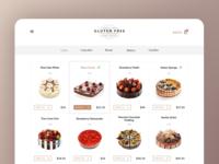 Cake Shop Concept / Web
